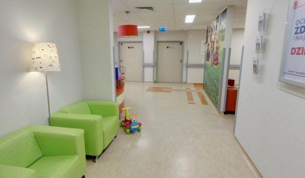 1 piętro - Hall Pediatria – wejście