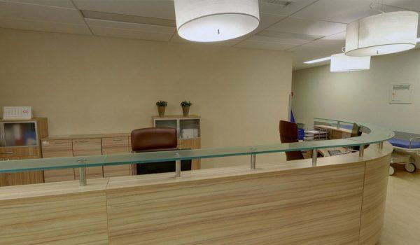 1 piętro Recepcja - Chirurgii Jednego Dnia