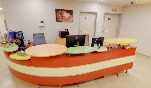 1 piętro – Pediatria – Recepcja