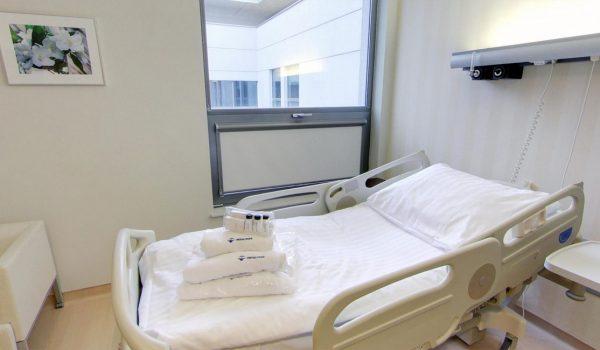 2 piętro – Kardiologia i Interna – Pokój Pacjenta