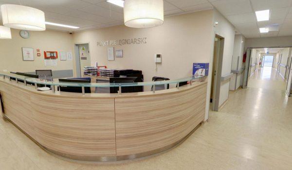 2 piętro – Chirurgia - Recepcja – Punkt pielęgniarski